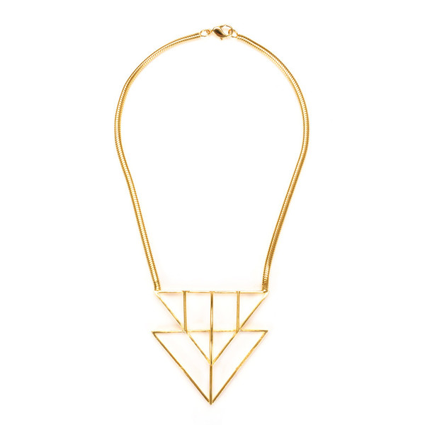 Jill Golden necklace, $276