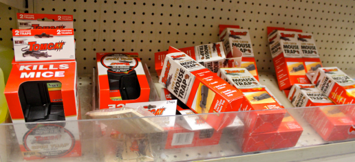 The CVS near Sudduth's home also offers various solutions to rats, such as traps.