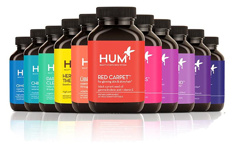 Beauty starts from within - HUM Nutrition launches at Sephora today (PRNewsFoto/HUM Nutrition)